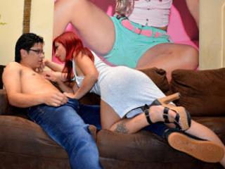 Disfruta de chats de sexo en directo DevilAndLove de Xlovecam - 21 años - We are a very hot and erotic couple